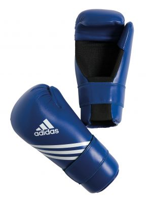 Adidas Semi Contact Gloves Blauw