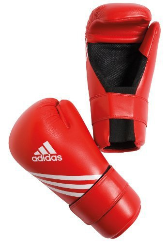 Adidas Semi Contact Gloves Rood