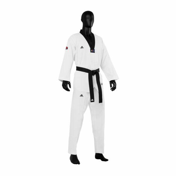 Adidas Taekwondopak Champion III Zwarte Revers