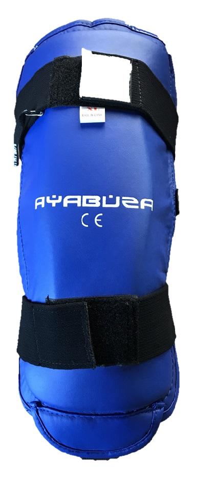Ayabuza Scheenbeschermer PU Blauw
