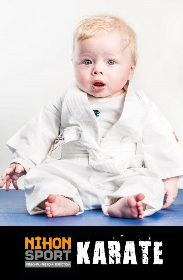 Banner Baby Karate