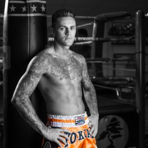 Banner Nieky Holzken zonder handschoen