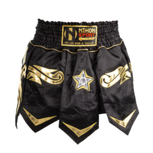 Nihon Muay Thai broek Black Star