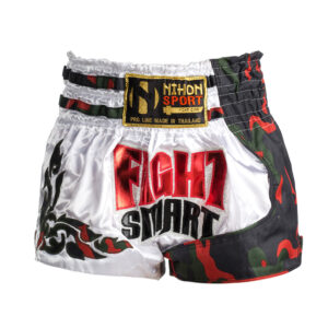 Nihon Muay Thai broek Fight Smart Rood