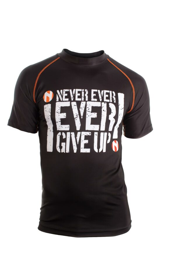"""Nihon Sportshirt """"Never Give Up"""""""