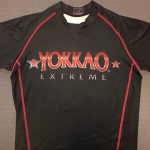 Yokkao Extreme Rashguard Korte Mouw Zwart