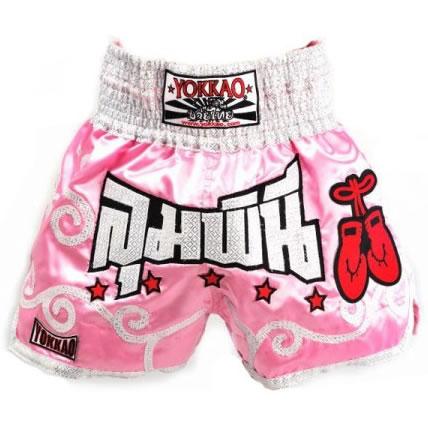 Yokkao Muay Thai Shorts Roze