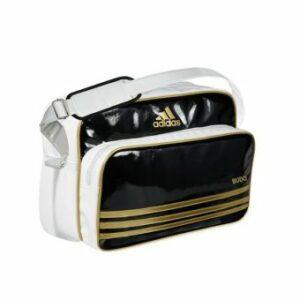 Adidas Retro Sporttas Zwart/Wit/Goud Budo maat M