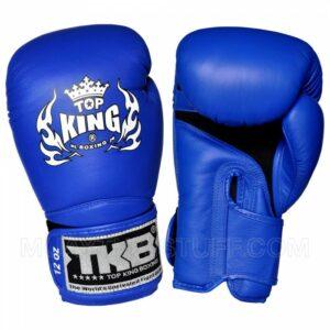 Top King Boxing Super Air Glove Blue (OP=OP)