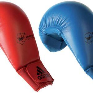 Adidas Karate Mitt WKF Rood maat XS