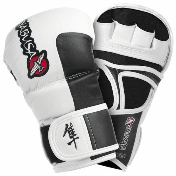 Hayabusa Tokushu MMA Hybride sparring Handschoen 7oz  Wit